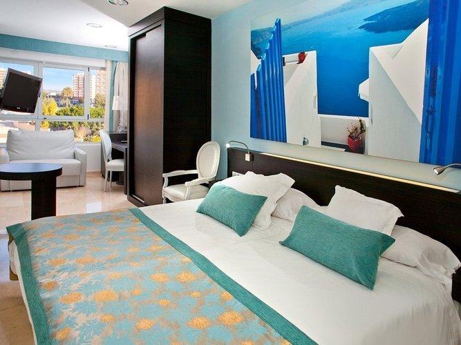 Chambre individuelle villa del mar hôtel benidorm