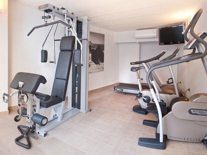 Gym villa del mar hôtel benidorm