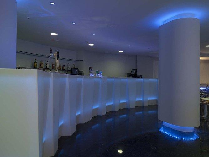 Bar villa del mar hôtel benidorm